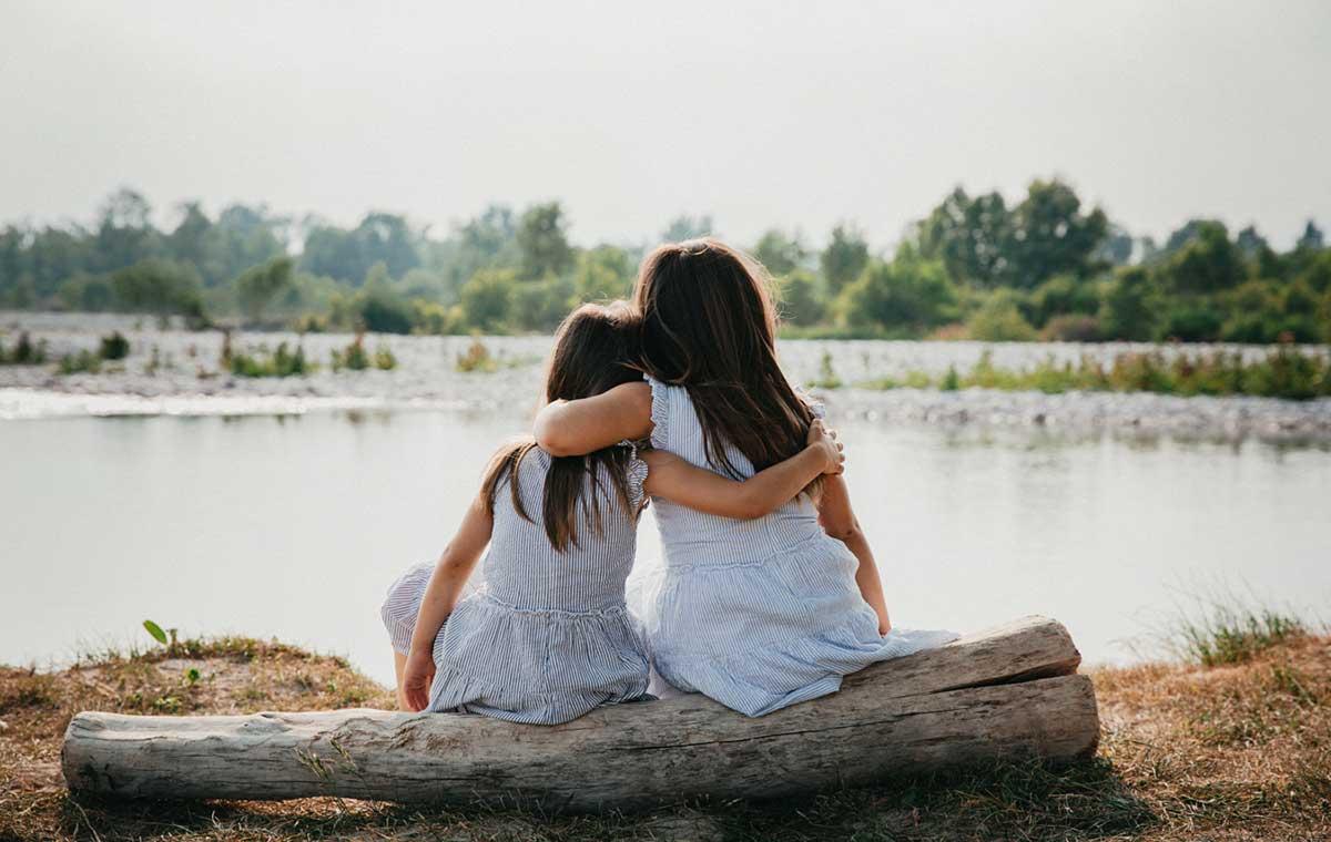 fotografia-sorelle-lago-vicenza
